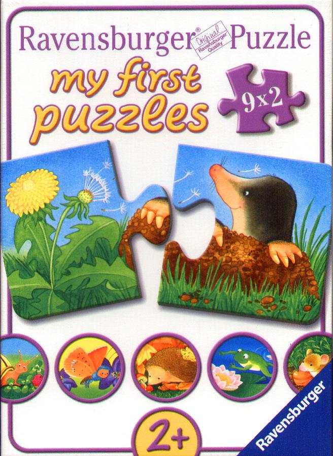 My first Puzzles - Tiere im Garten