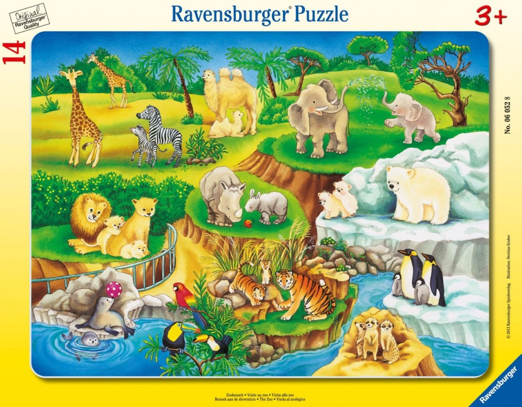 Zoobesuch - Puzzle